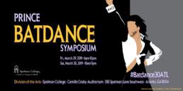 Prince Batdance Symposium Flyer