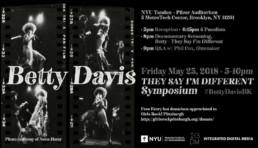 Betty Davis Symposium Flyer