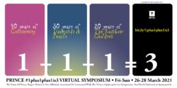 1plus1plus1is3 Event Flyer